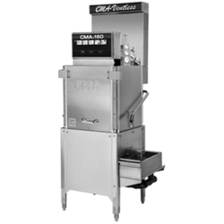 Low/High Temp Upright Bakery Tall Hood Dishwashers